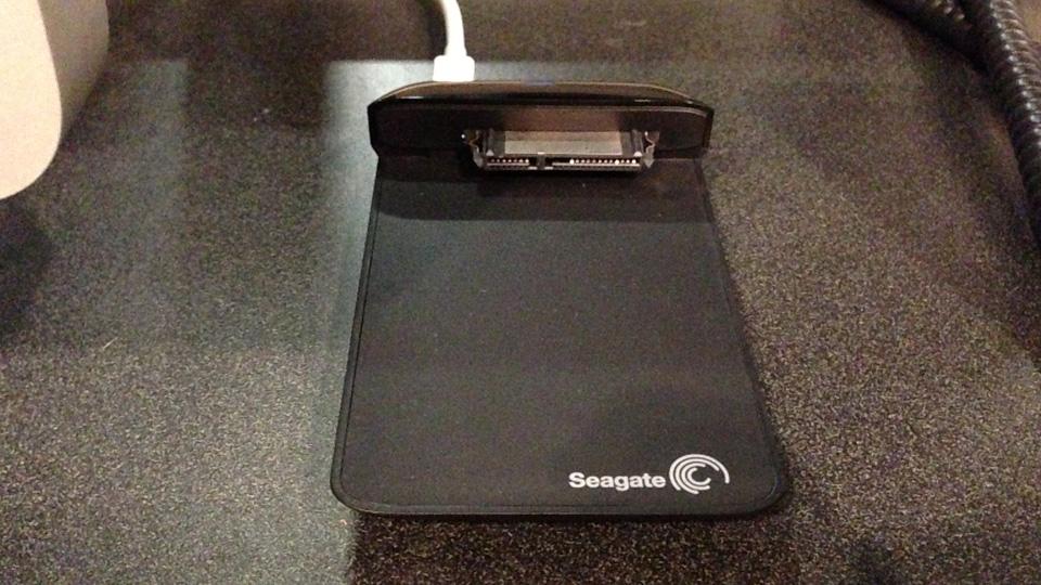 Seagate SSD Dock