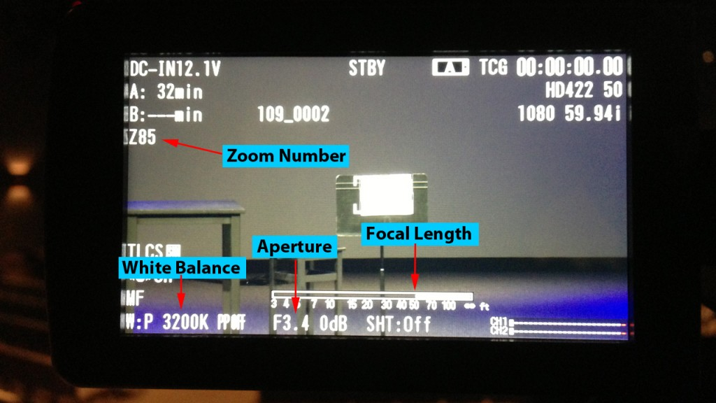 Sony Camera Setup