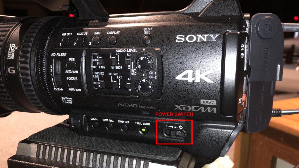 Sony Baptism Camera 01